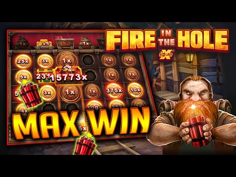 Fire In The Hole xBomb เกมสล็อตยอดนิยม