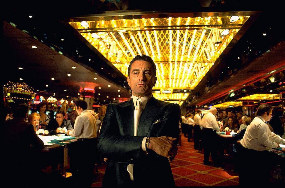 ภาพยนตร์เรื่อง Casino ที่เกี่ยวข้องกับ การพนันใน คาสิโน